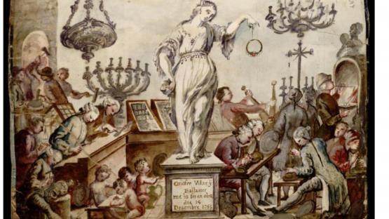 El taller d'un argenter. 5D131-18 Llibre de Passanties. Vol V (1753-1814). Fol. 48r.