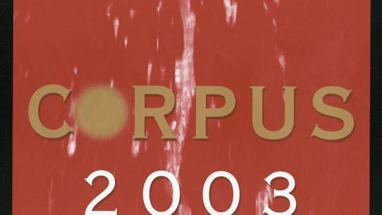 L'ou com balla, icona del cartell de l'Ajuntament per al Corpus 2003. AHCB. R. Martínez i P. Virgili. AHCB 17469