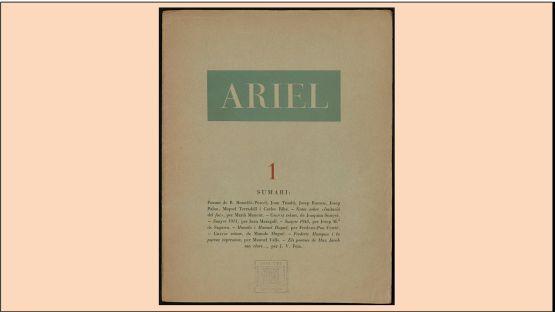 Ariel núm. 1 del 05 de 1946