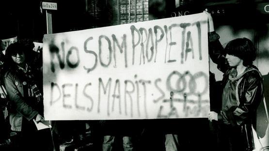 Manifestació feminista1976