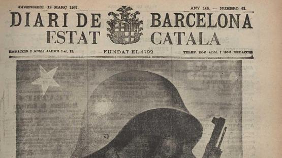 Diari de Barcelona : portantveu d'Estat Català. Núm. 61, 12 març 1937.