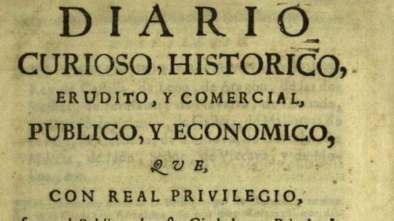 Diario curioso, histórico, erudito, comercial, público y económico. 1 gener 1762.