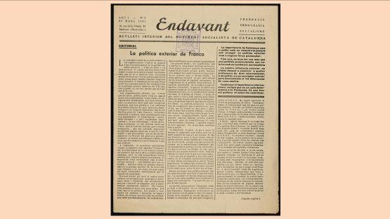 Endavant núm. 2 del 25de març 1945