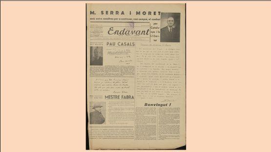 Endavant, Núm. 29, del 28 de gener de 1947