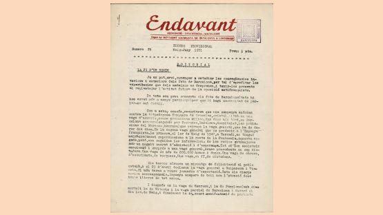 Endavant, núm. 26 del 6 de maig de 1951
