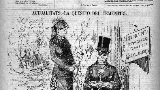 La cuestión del cementerio nuevo en la Esquella de la Torratxa