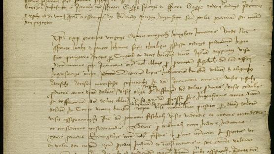 Transcripción del proceso inquisitorial contra Beatriu Llopis AÑO 1454 C.XVIII-5/3