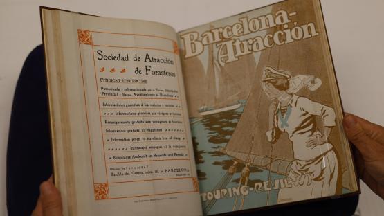 AHCB, Periodicals Library, Barcelona atracción, June 1911.