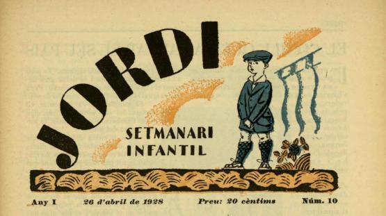 Jordi : setmanari infantil. Núm. 10, 26 abril 1888.