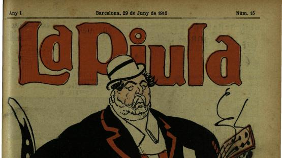 Piula, La : setmanari regionalista amb ninots. Núm. 15, 29 juny 1916.