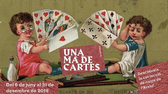 Visites comentades i sessió de cartomàgia a l'exposició Una mà de cartes