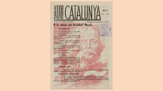 Per Catalunya, núm. 14, del 25 de desembre de 1945