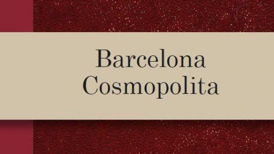 Detall portada Barcelona Cosmopolita
