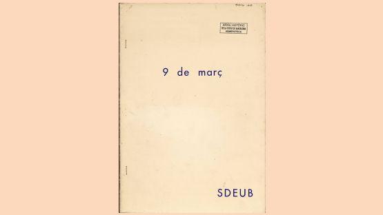 SDEUB, 9de març de 1968