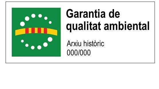 Distintiu de garantia de qualitat ambiental atorgat a l'Arxiu Històric de la Ciutat de Barcelona
