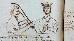 Anotació en el Manual de novells ardits del 7 de desembre de 1492 dedicada a l'atemptat contra Ferran II