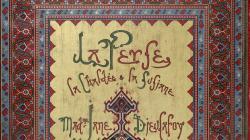 Portada de la publicació La Perse La Chaldée et la susianne, de 1887, de Madame Dieulefoy