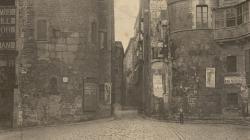 Fotografia de la Plaça Nova. 1896