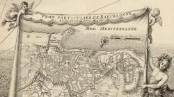 Gravat del Plan particulier de Barcelonne, de 1698