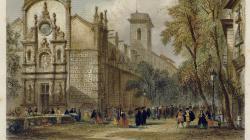 L'església de Betlem, gravat d'Adolphe Rouarge de 1845