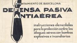 Cartell de 1937 de la Defensa pasiva antiaérea de Barcelona