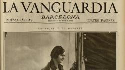 Portada de La Vanguardia del 15 d'abril de 1931