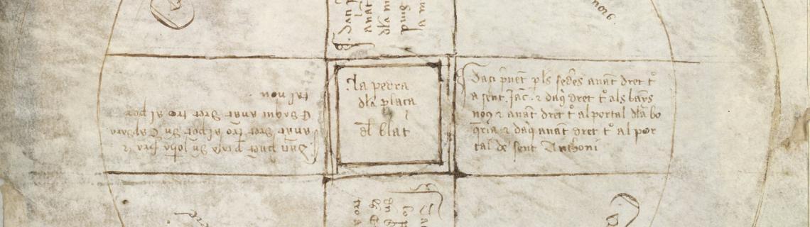Fogatge 1389, el primer plànol de Barcelona