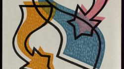 Cartell del III Congreso Internacional de Pesebristas. Autor: Oriol Balmes Bosch, 1957