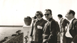 Fotografia de Rainier III i Grace Kelly, prínceps de Mònaco, dècada de 1960. AMDSG.