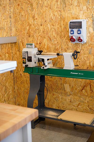 Torn de fusta Holzstar DB1100