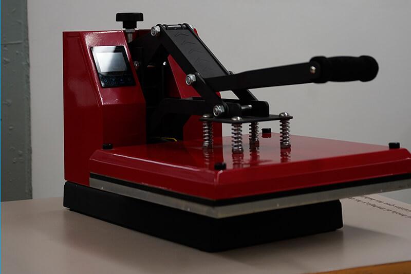 Premsa tèrmica per estampació de vinil textil