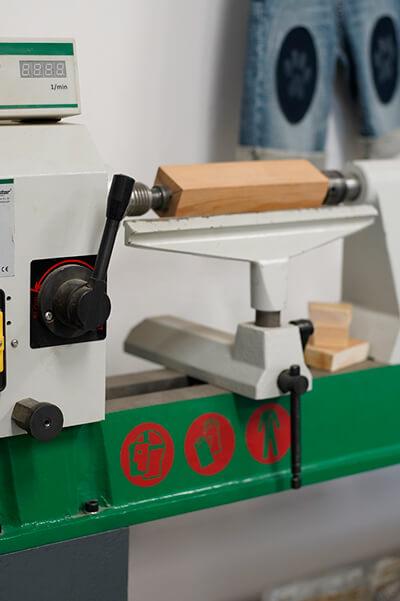 Torn manual de fusta