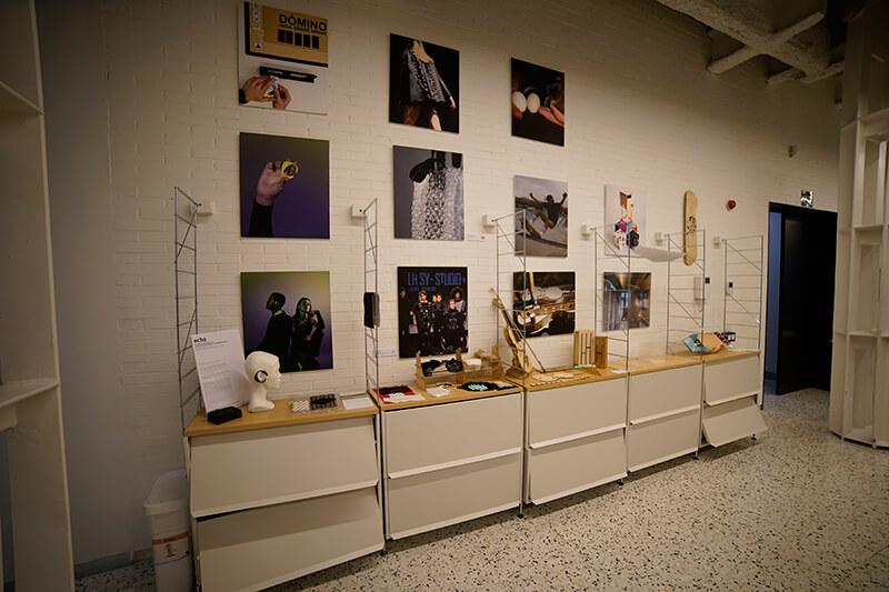 Zona exposició projectes