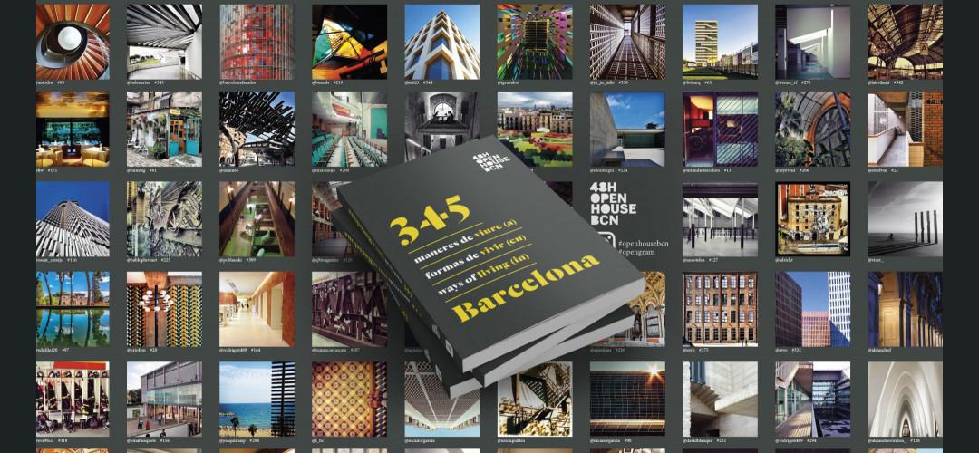 Imatges del llibre '345 maneres de viure (a) Barcelona'