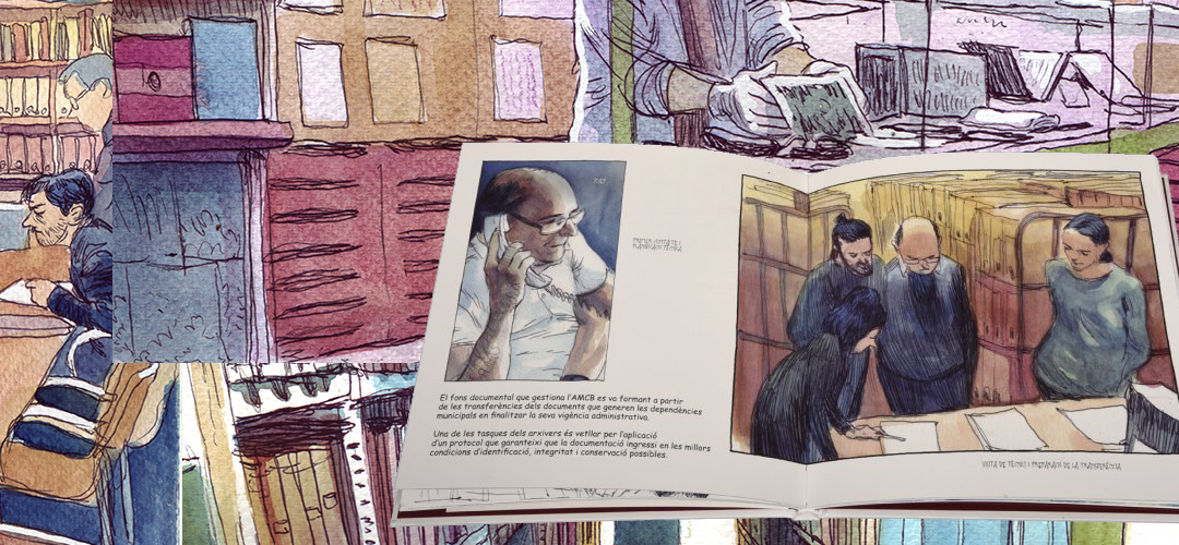 Imatge del llibre 'Barcelona Arxiu Municipal Contemporani. AMC 1917-2017'