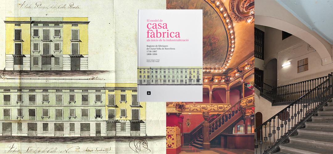 Imatges del llibre 'El model de casa fàbrica als inicis de la industrialització'