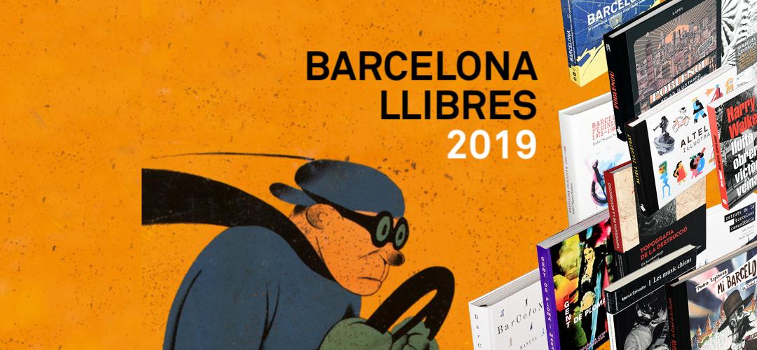 Imatge de la coberta del catàleg 2019 Barcelona llibres