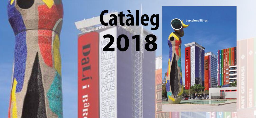 Imatge de la coberta del catàleg de publicacions municipals 2018