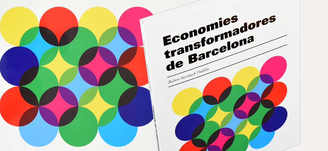 Imatge de la coberta del llibre 'Economies transformades de Barcelona'