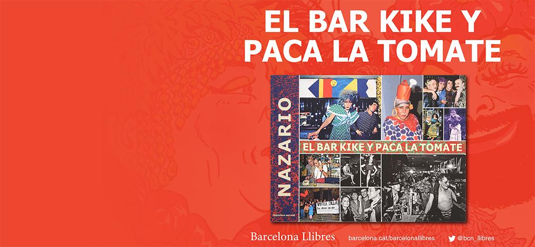 Imatges del llibre 'El bar Kike y Paca la Tomate' de Nazario