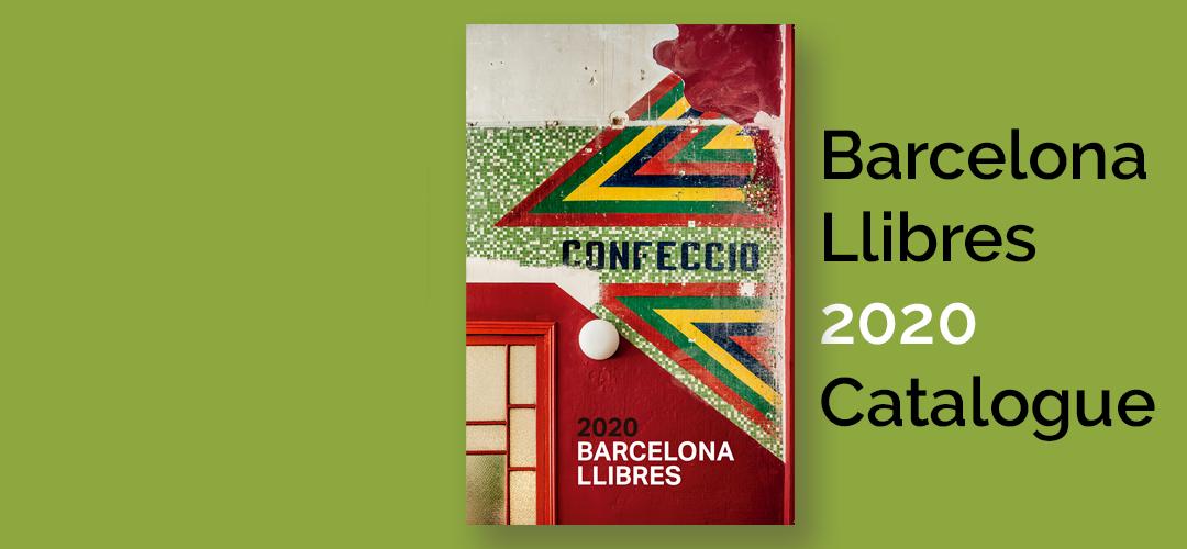 Imatge de la coberta del Catàleg 2020 Barcelona Llibres