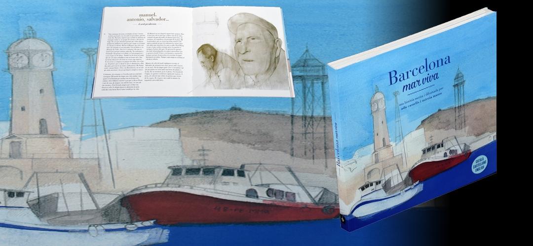 Imatge del llibre 'Barcelona mar viva'