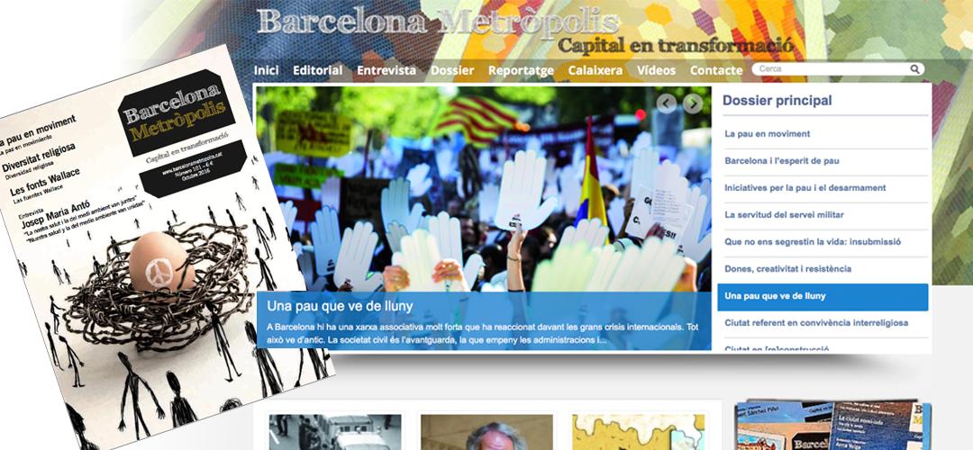 Imatge de la coberta de la revista 101 de 'Barcelona Metròpolis'