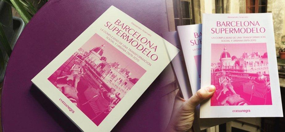 Imatge de cobertes del llibre 'Barcelona supermodelo'