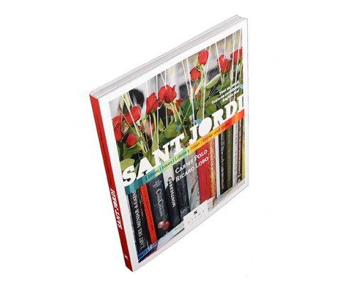 Sant Jordi. Llibres i roses