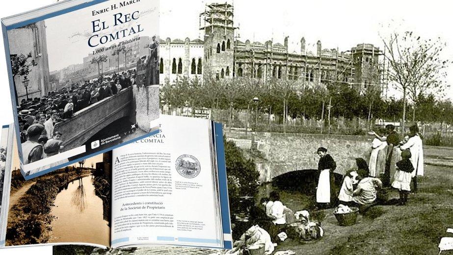 Imatges del llibre 'El rec Comtal, 1.000 anys d'història'