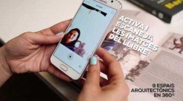 Aplicació i realitat augmentada del llibre 345 MANERES DE VIURE (A) BARCELONA