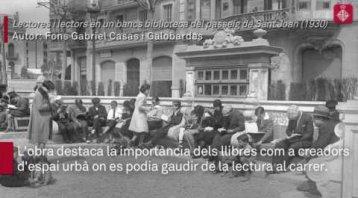 """""""Barcelona ciutat de llibre"""", una relació literària inseparable"""