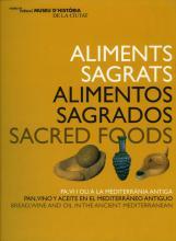 Portada del  llibre Aliments Sagrats