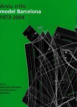 Imagen de cubierta del libro Arxiu crític model Barcelona 1973-2004